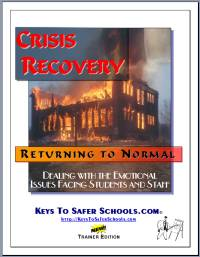 Keys' Recovery Phase of an Emergency.  Click picture to learn more about the Crisis Recovery Training