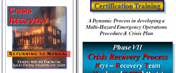 Crisis Recovery: Returning to Normal Certification Training