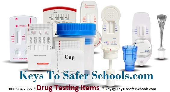 Keys' Drug Testing Items
