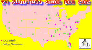 74 Shooting since Dec. 2012
