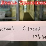 A Closed School after Ebola Concerns