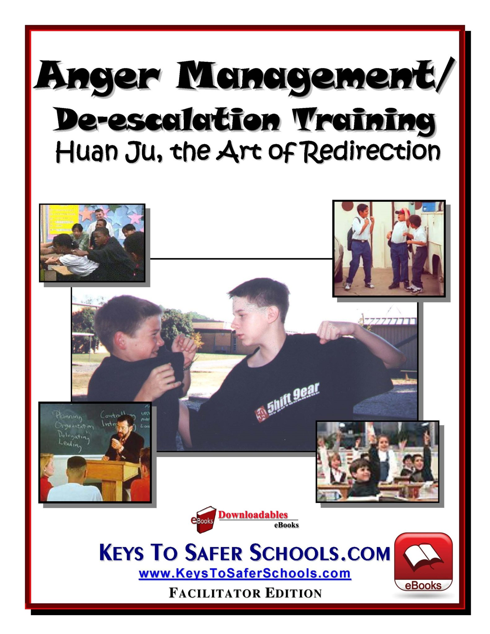 Anger Management/De-escalation Guide Downloadable eBook