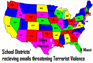 Terrorist Threats in Dallas, Houston & Miami
