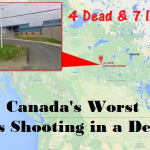 4 Killed & 7 Injured in Canada's worst mass causality school shooting in a decade